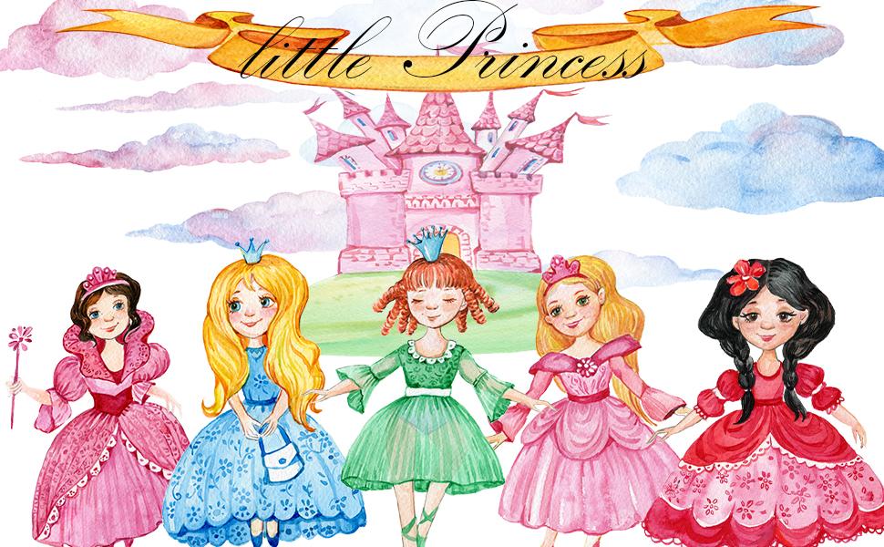 Princess potty training sticker chart