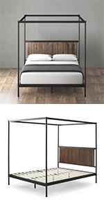 Wesley Canopy bed Frame