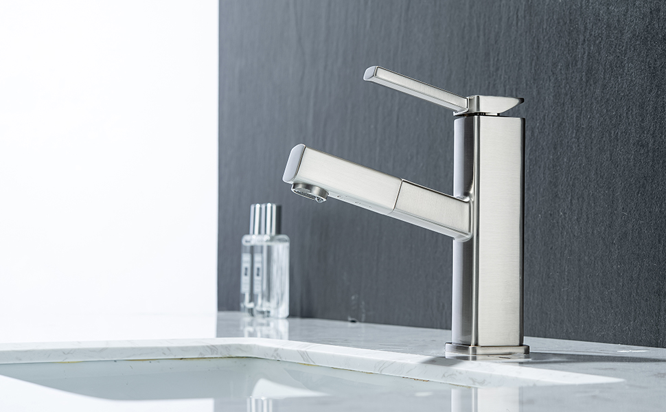 elegant Pull-out and 360° swivel design