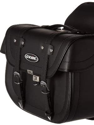 Ws-1000 grande saddle bags panniers luggage carry rack oxide motorcycle pannier