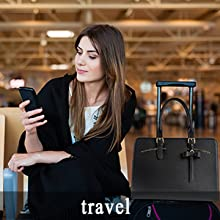 womens fashion travel tote bag shoulder bag PU leather bag