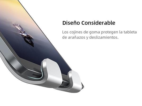 Soporte Tablet, Lamicall Multiángulo Soporte Tablet - Soporte Ajustable para Tablets para 2020 iPad Pro 10.5, 9.7, 12.9, iPad mini 2 3 4, iPad Air, Air 2, Samsung Tab, iPhone, Otras Tablets - Plata: Amazon.es: Informática
