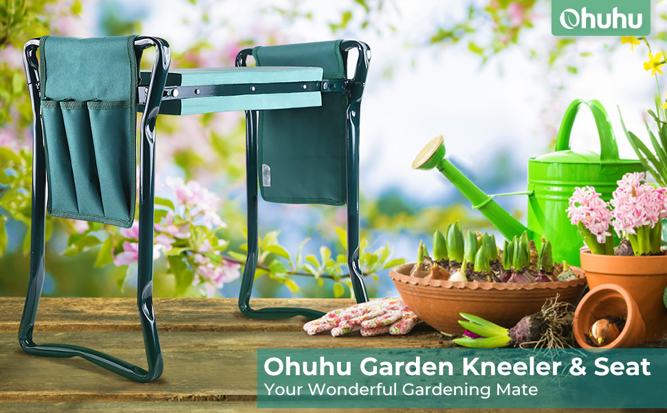 garden kneeler and seat gadening stool kneeling pad soft comfortable knee pad father mother day gift