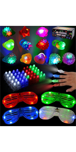 60 Pieces LED Light Up Toy