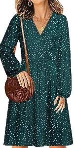 Women Polka Dot Dress