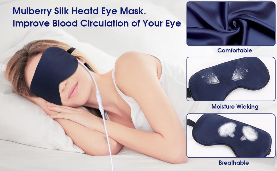 heated eye mask