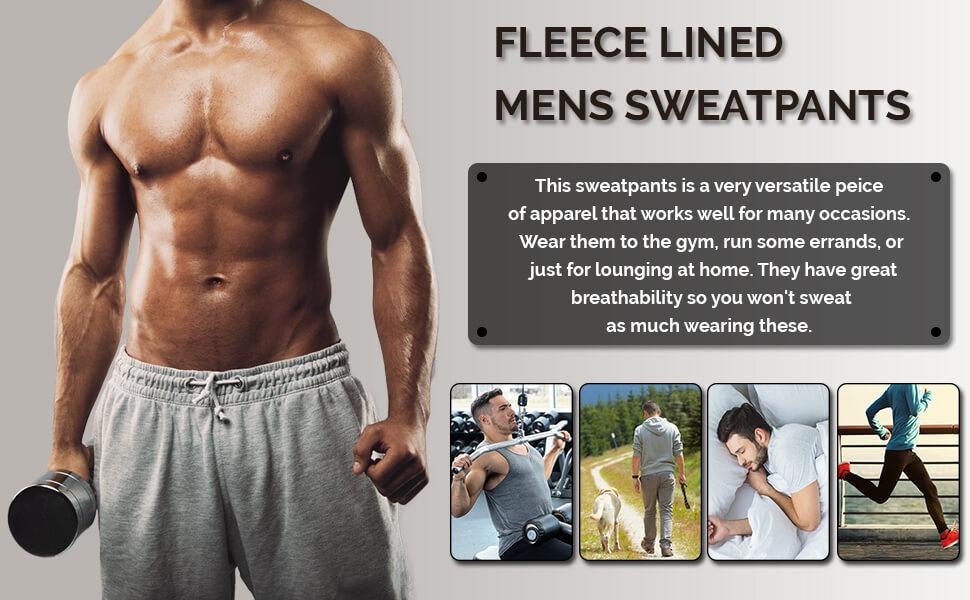 mens sweatpants for men joggers sweat pants men's workout man sweats jogger with pockets