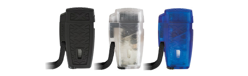 xikar stratosphere ii water resistant windproof lighter cigar accessory design jet torch flame