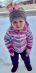 kids warm knit winter headband