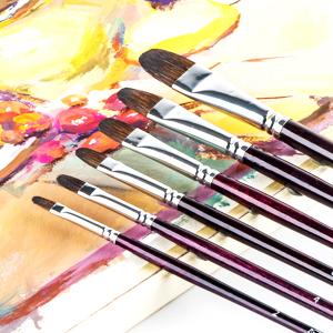 filbert artist brush