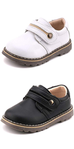 Kids Leather Dress Shoes