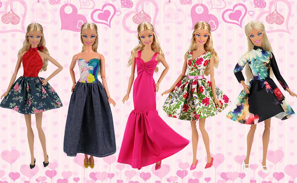 barbie vestdos