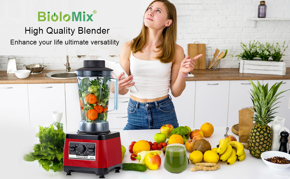 BioloMix Heavy Duty Commercial Grade Blender