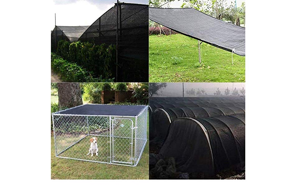 5/' x 100/' 90/% Shade Net Mesh Screen Garden Patio RV Nursery Canopy Sun Poultry
