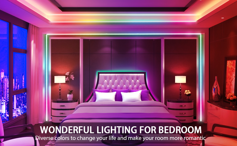 Amazon Com Led Strip Lights With Remote Bedroom 16 4ft 5m Waterproof Led Light Strips Rgb Led Strip Color Changing Led Strip Lights For Bedroom Bed Home Room Kitchen Tv Backlight Diy Decoration 12v Power Sup Home Improvement,Keeping Up With The Joneses Movie