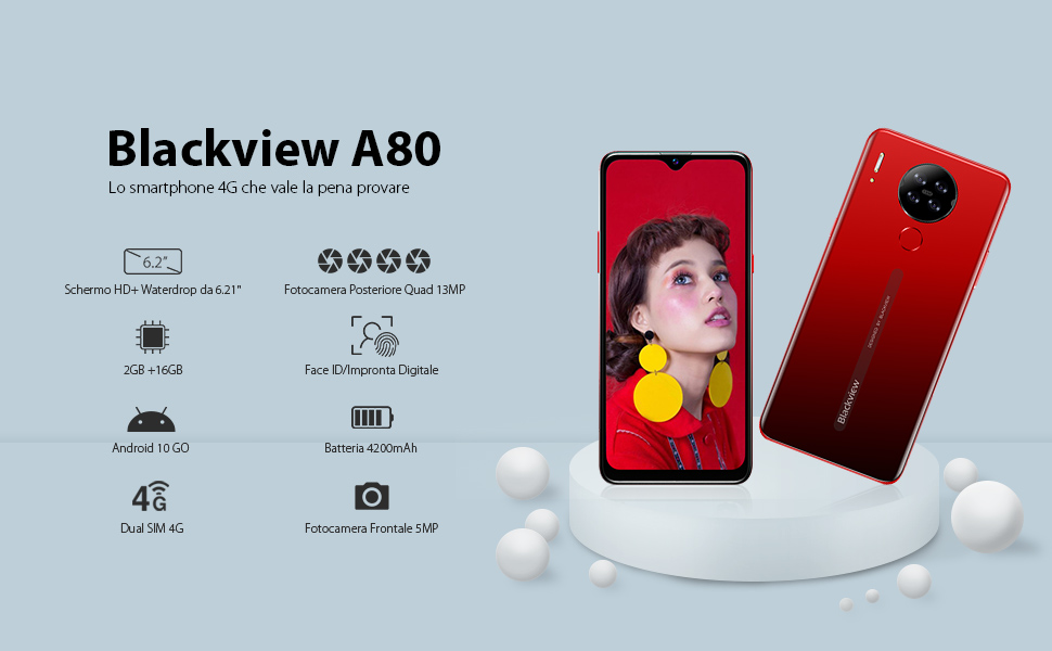 Blackview A80 smartphone 4G