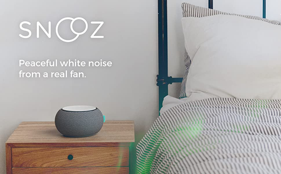 non-looping fan white noise for snoring, barking dogs, tinnitus, loud hotel rooms, office privacy