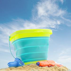 foldable beach pail bucket set