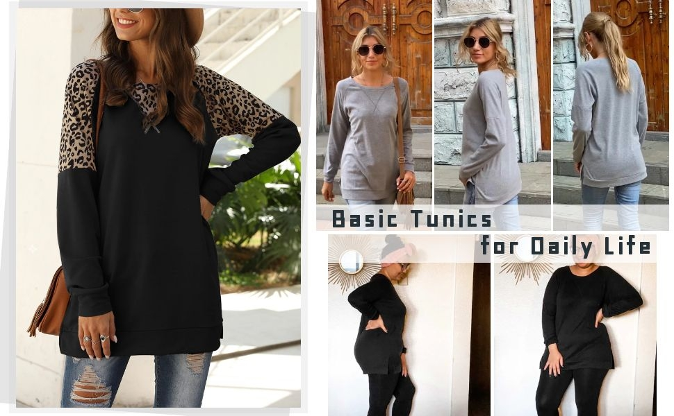 Basic Tunic Tops