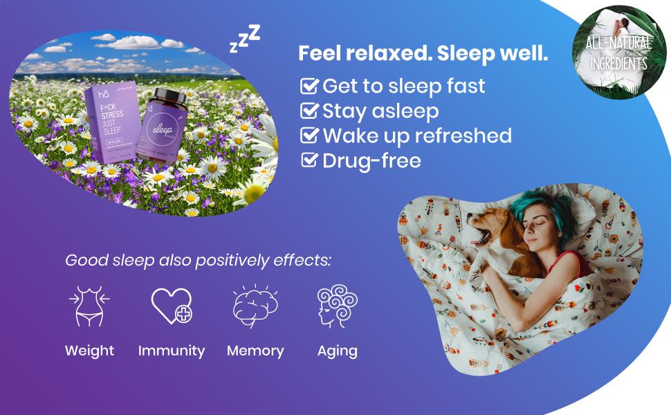 Sleep aid, melatonin, sleep better, supplement, all natural, vegan pills, insomnia, nongmo