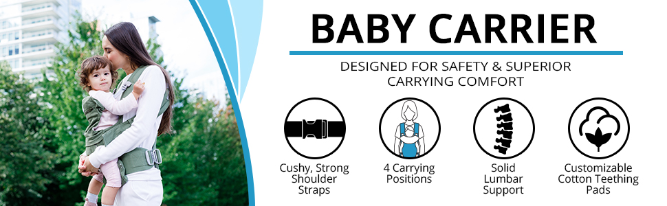 TotCraft baby carrier comfortable fit