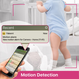 nanny cam wireless with cell phone app video surveillance camera