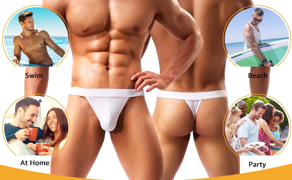 men's g string thong swimwear athletic panties