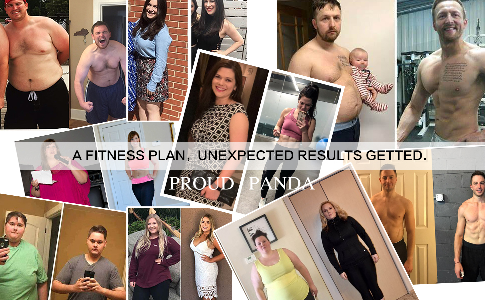 A fitness plan,unexpected results getted