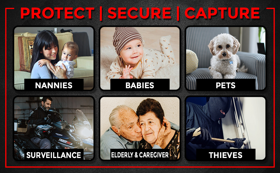 PROTECT | SECURE | CAPTURE