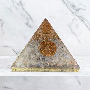 Orgonite Pyramid for EMF Protection