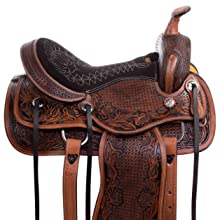 barrel saddle, trail saddle, ranch saddle, western saddle, horse saddle, leather saddle, horse tack