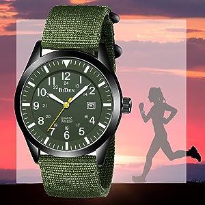Waterproof Outdoor Casual Quartz Wristwatch
