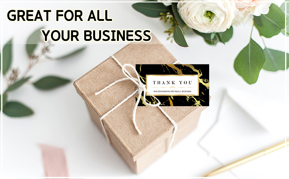thank you cards small business