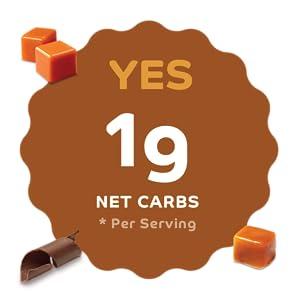 1g Net Carbs Per Serving