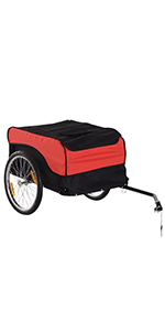 Transportaanhanger bagagedrager fiets