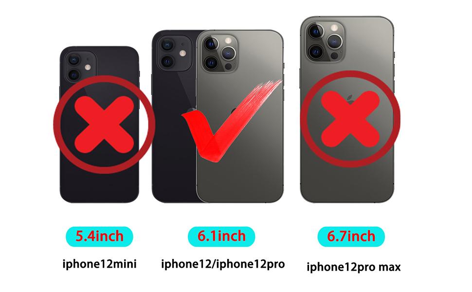 designed for Apple iPhone 12/12Pro 6.1inc