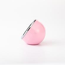 ピンク時計の側面画像