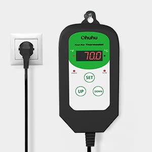Digital Seedling Heat Mat Thermostat Controller for Seed GerminationTemperature Control