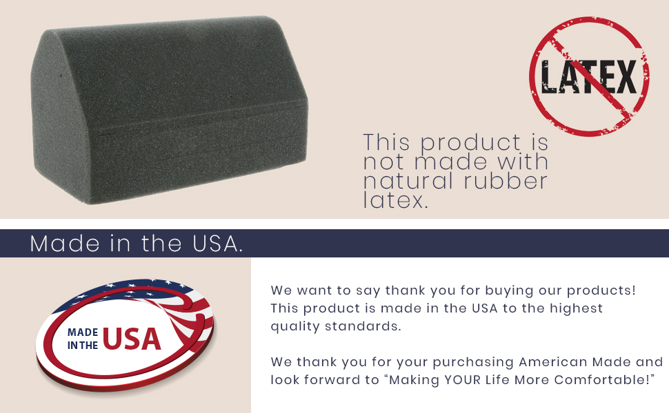 Latex free- made in USA