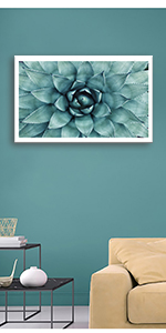 Blue Agave Canvas Prints Agave Flower Art Giclee Canvas Printing