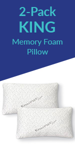 enerplex king pillow double pack