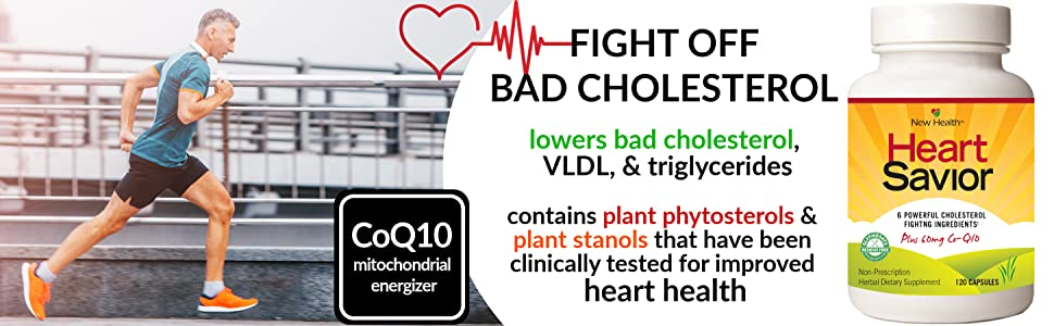 mountain health heart savior cholesterol supplement lower low