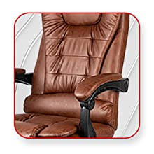 Kepler Brooks, Office Chair, High Back Office Chair, Ergonomic Back rest with lumbar support