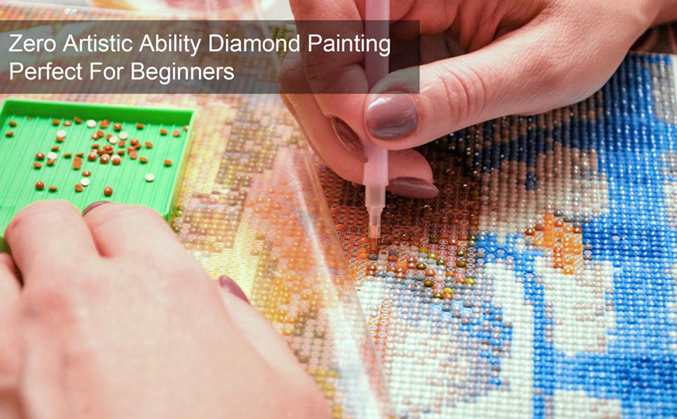 Zero Artistic Ability Diamond Painting  Perfect For Beginners