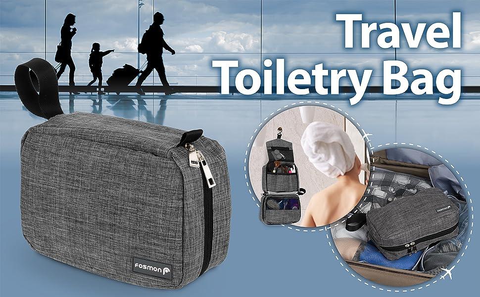 travel unisex toiletry bag
