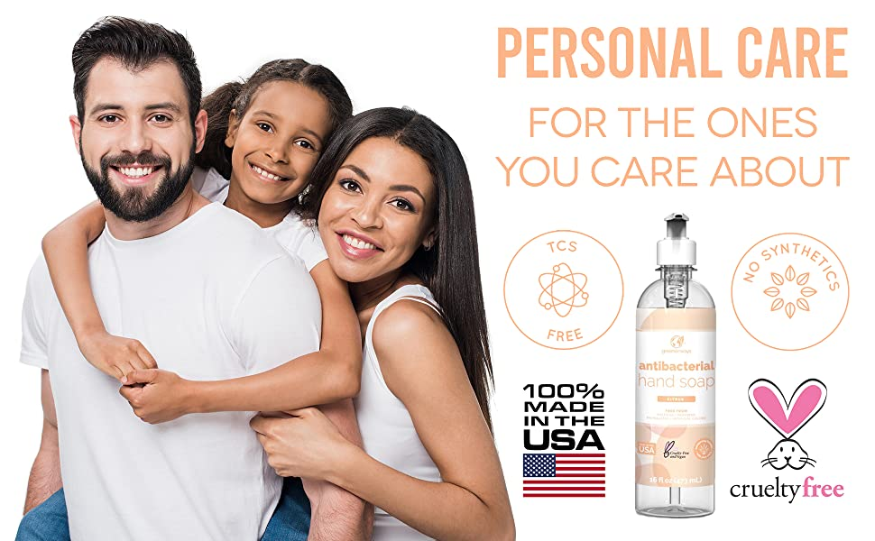 Cruelty free non toxic luxury vegan moisturizing cleanses smoothing soft skin hand wash