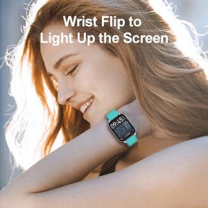 Wrist Flip to Light Up the Screen