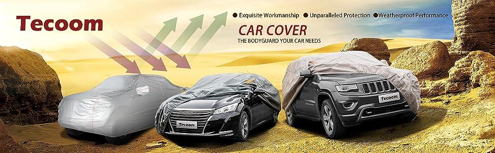 AUDI A4 ESTATE WATERPROOF LUXURY PREMIUM CAR COVER COTTON LINED HEAVY DUTY