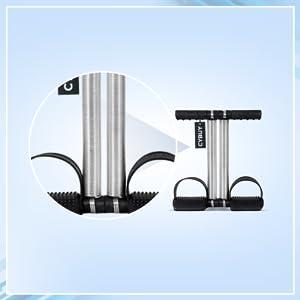 B08B4ZP621 CYBUY Double Spring Waist Trimmer-Abs Exerciser-Body Toner-Fat Buster-  SPN FOR-1