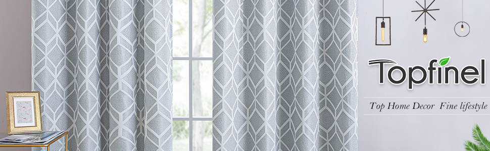 Topfinel curtains